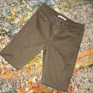 Melrose and Market skinny chinos in olive